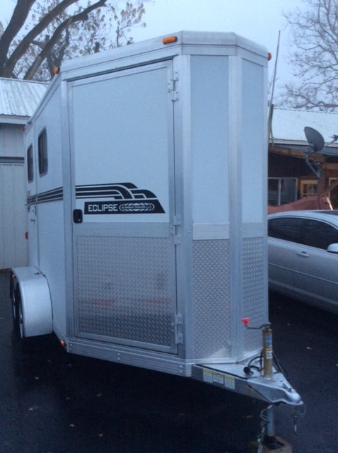 2010 Eclipse 2 Horse Trailer